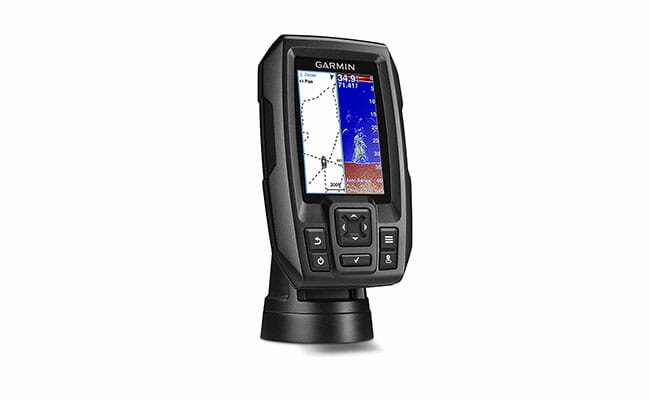 Garmin Striker 4 side view