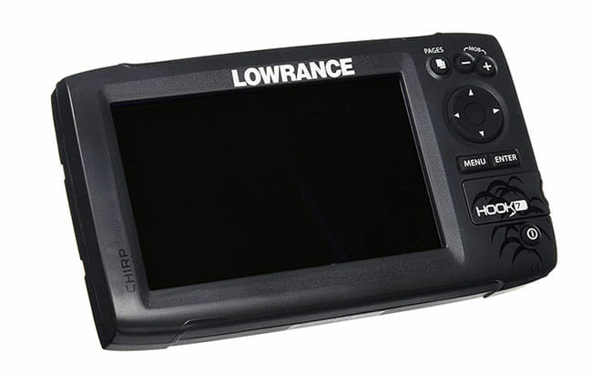 Lowrance Hook 7 with off display