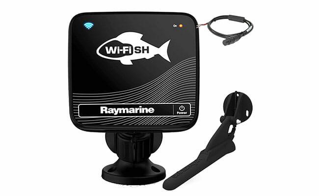 Raymarine Wi-Fish in the box