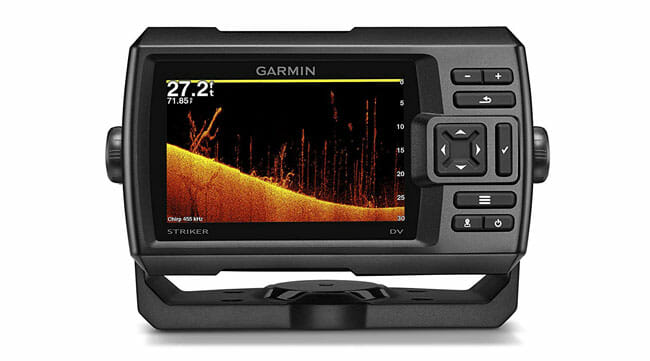 Garmin Striker 5dv on white backgrund