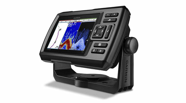 Garmin Striker-5dv side view